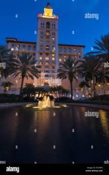 Fountain Historic Biltmore Hotel Coral Gables Miami
