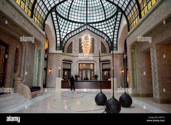 Interior Of Gresham Palace Four Seasons Hotel