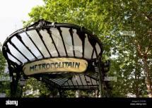 Art Nouveau Entrance Canopy Stock &