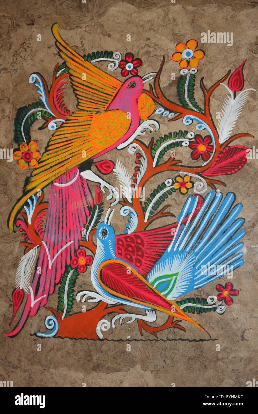 Famous mexican folk art