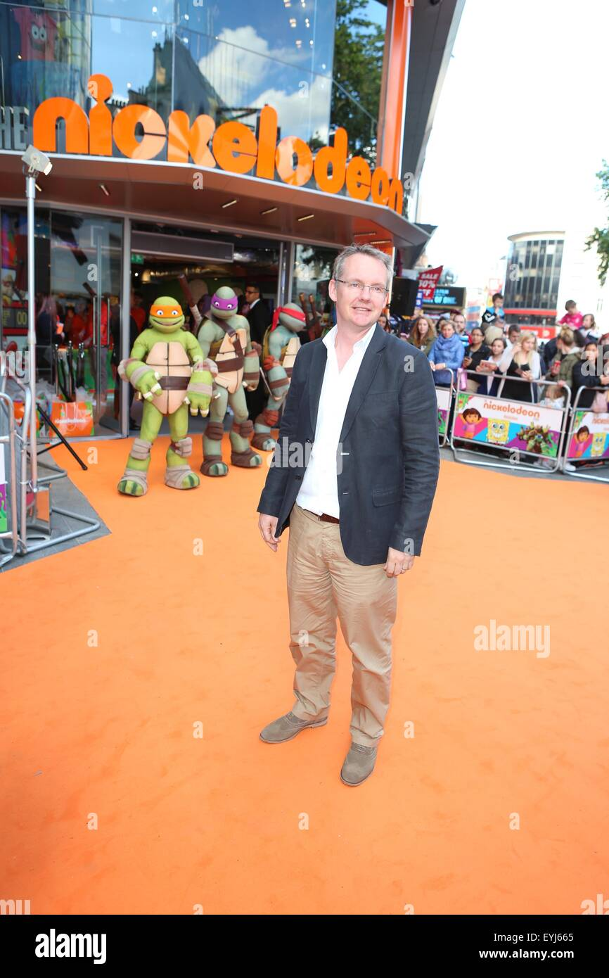 Nickelodeon Leicester Square : nickelodeon, leicester, square, Guests, Attend, Opening, Nickelodeon, Store,, Leicester, Stock, Photo, Alamy