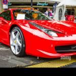 Berlin June 14 2015 Sports Car Ferrari 458 Spider Since 2011 Stock Photo Alamy