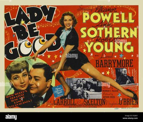 Image result for lady be good movie poster