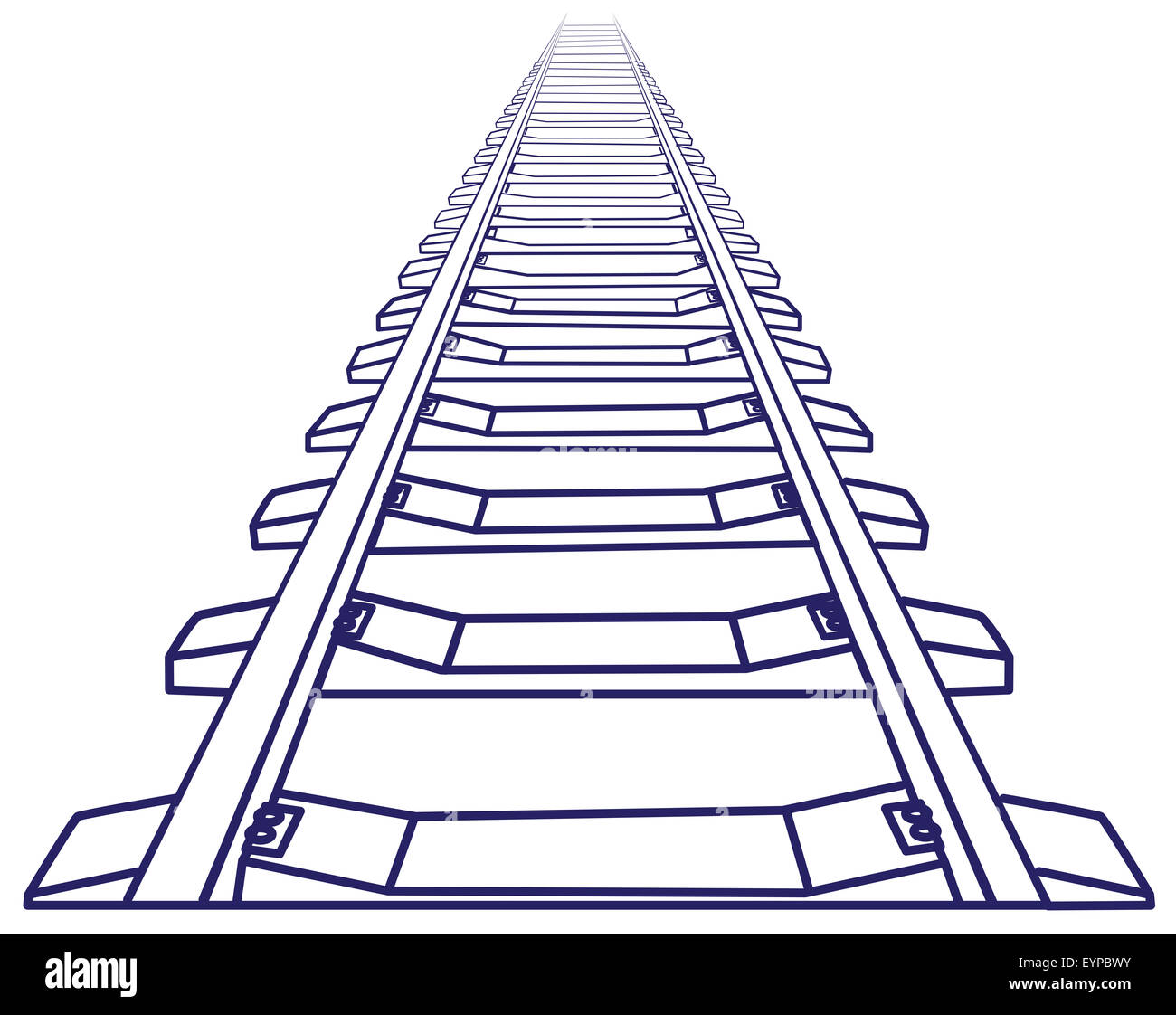Perspective Drawing Train Stock Photos Amp Perspective