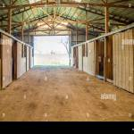 Ky Horse Barn Interior At High Resolution Stock Photography And Images Alamy