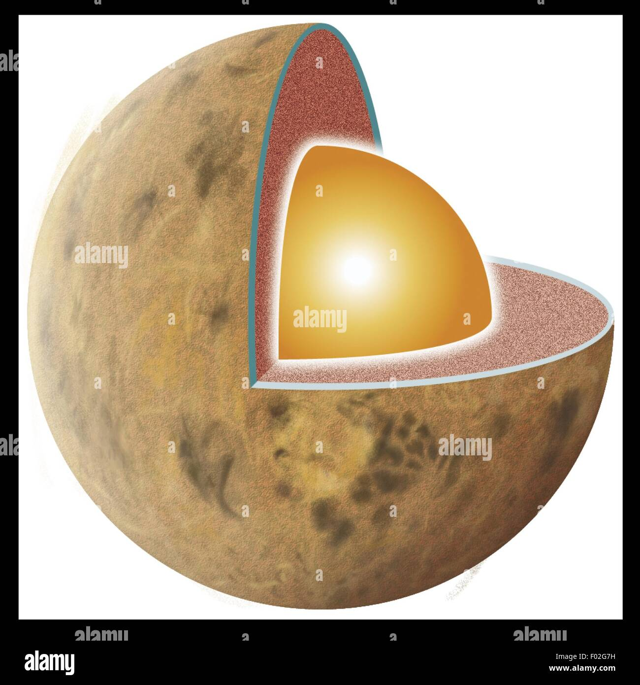 hight resolution of interior venus structure crust mantle core