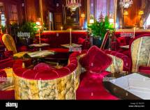 "Paris France Luxury ""hotel Costes"" French Bar"