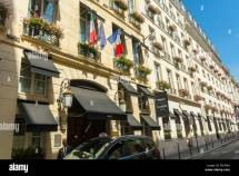 Paris France Luxury Hotel Castille Front