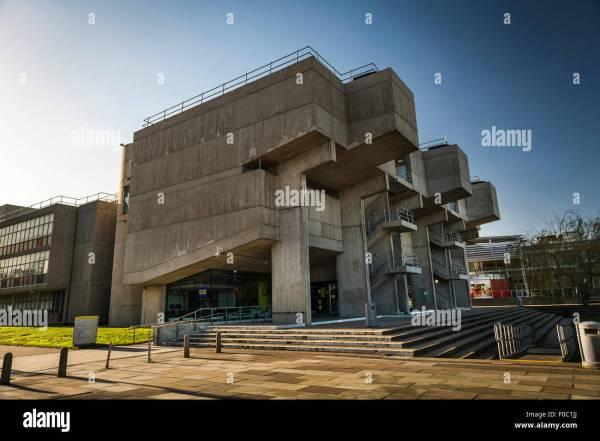 Brunel University Campus Building In Uxbridge London Uk