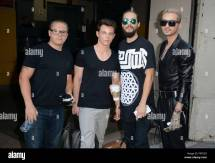York Ny Usa. 14th Aug 2015. Tokio Hotel Gustav