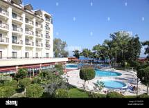 Five Star Mediterranean Resort Hotel In Turkey Stock