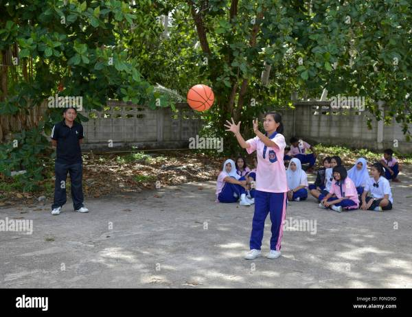 Physical Education Class Stock &