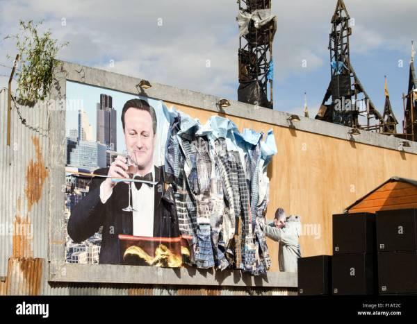 Banksy Dismaland Bemusement Park Pop Art Exhibition Stock Royalty Free