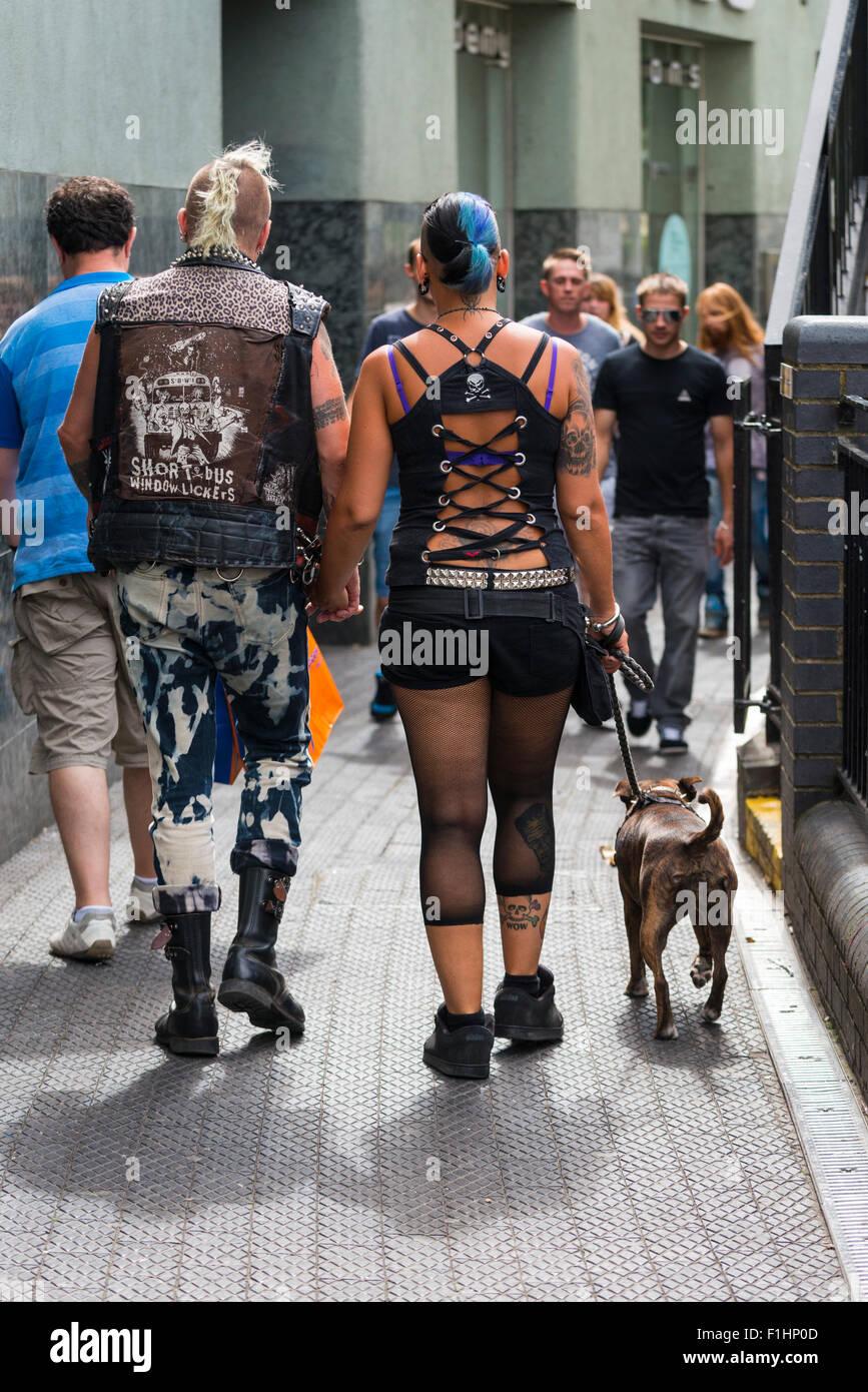 London Camden Town Lock Punk Rock Goth Gothic