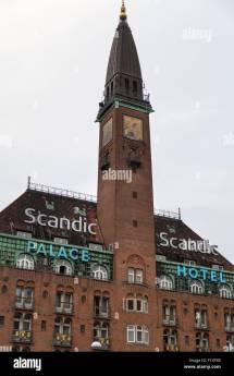 Scandic Palace Hotel Copenhagen Denmark Stock
