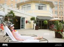 Hotel Icon Swimming Pool Stock &