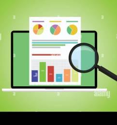 business analyst stock vector [ 1300 x 848 Pixel ]