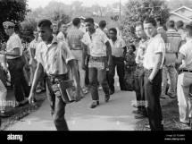 African American Boy Walking