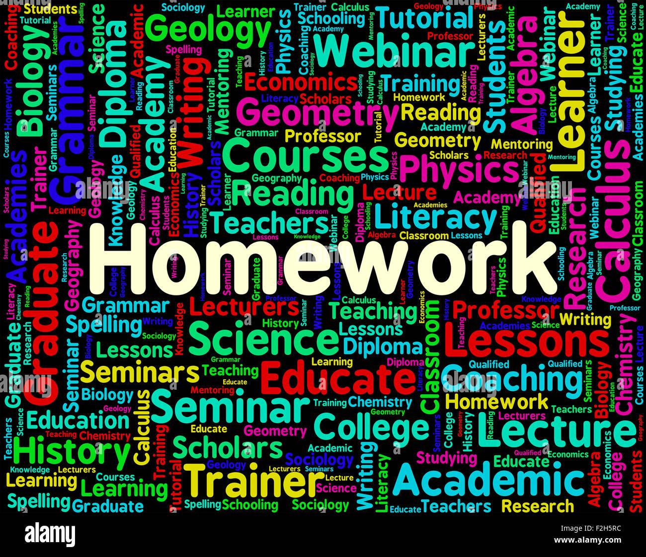 Homework Word Origin