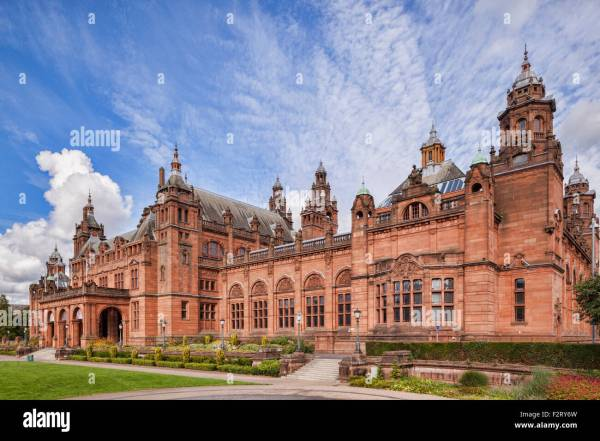 Kelvingrove Art And Museum In West End Of