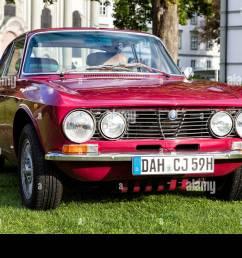 alfa romeo vintage car stock image [ 1300 x 956 Pixel ]