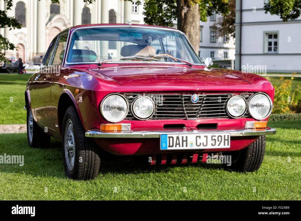 medium resolution of alfa romeo vintage car stock image