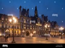 Hotel De Ville Paris Stock &