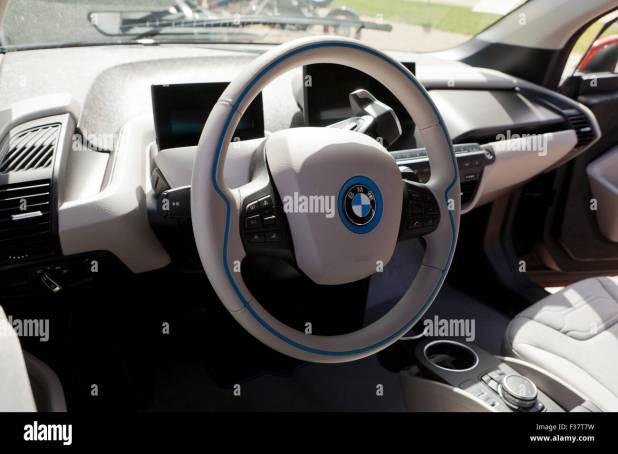 Bmw Electric Car Interior
