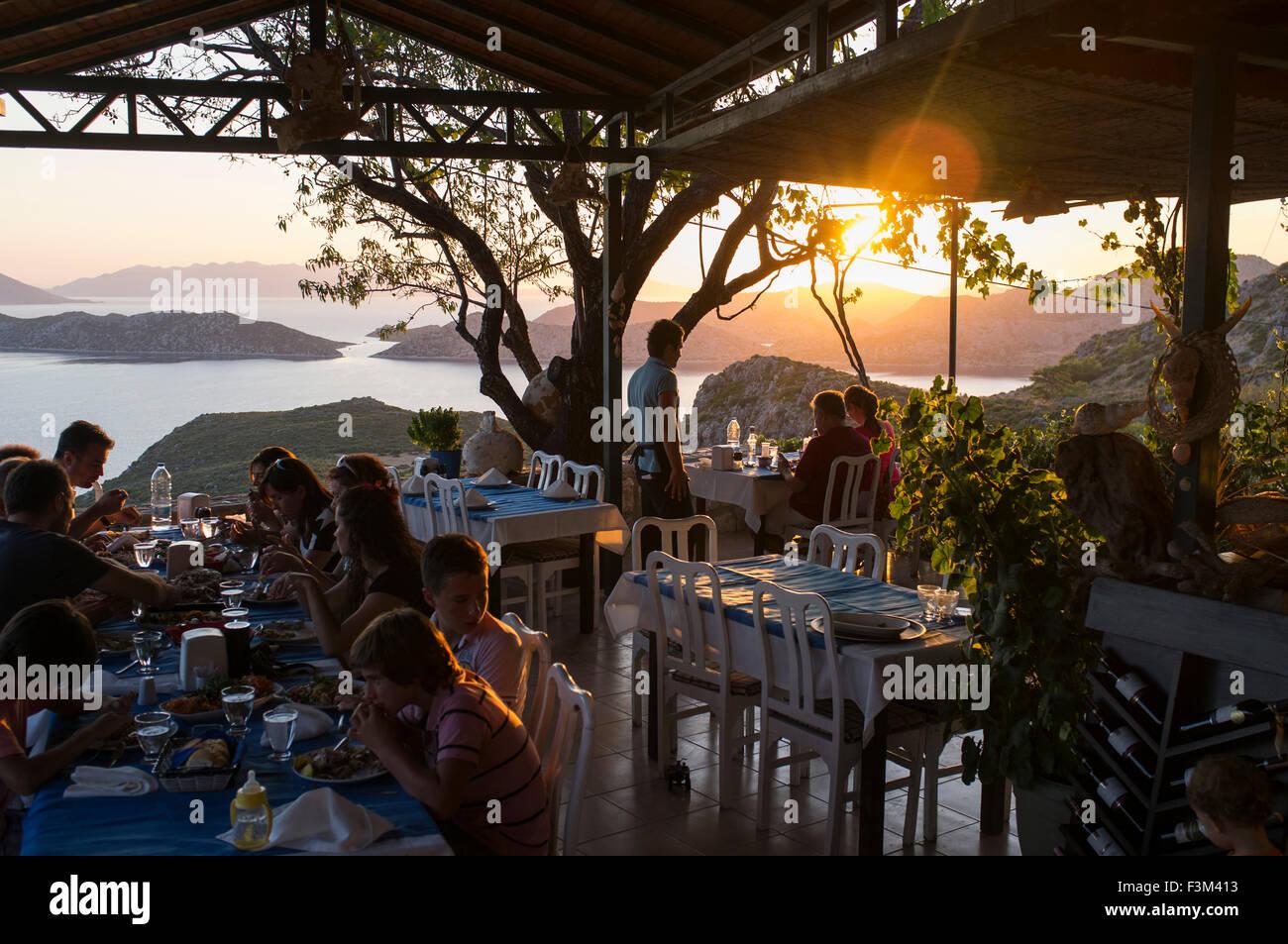 Manzara Restaurant Sogut Koyu Bozburun Peninsula Turkey