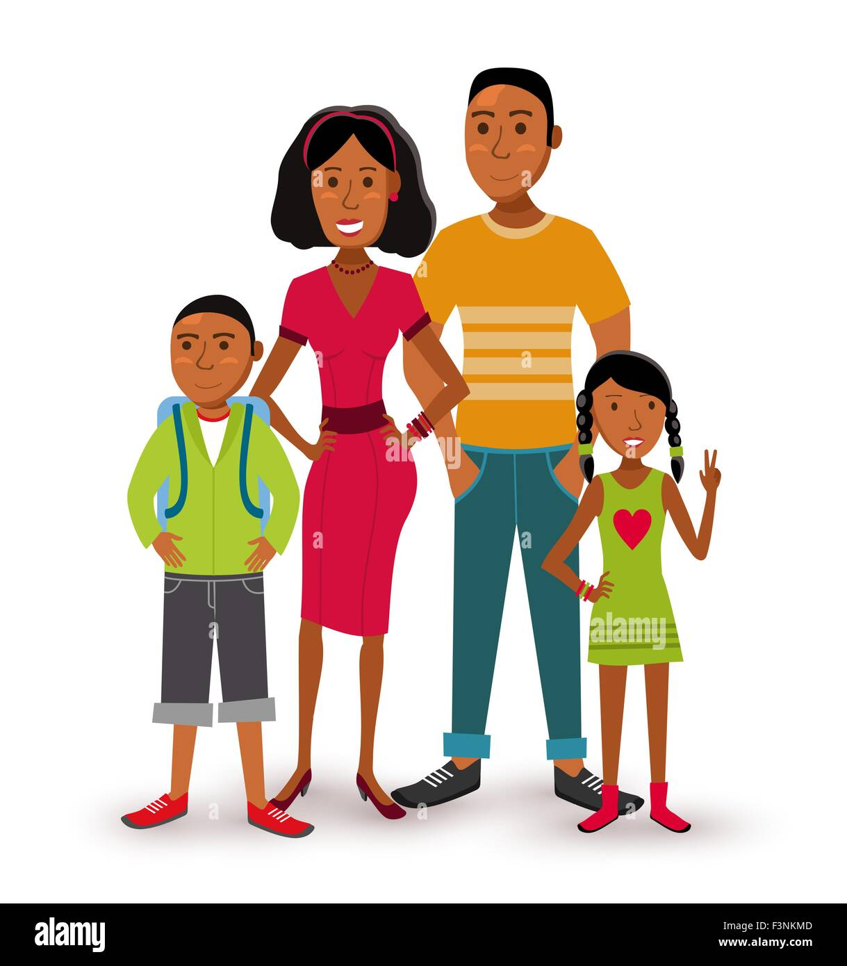 People Collection Nuclear Family Group Generation With