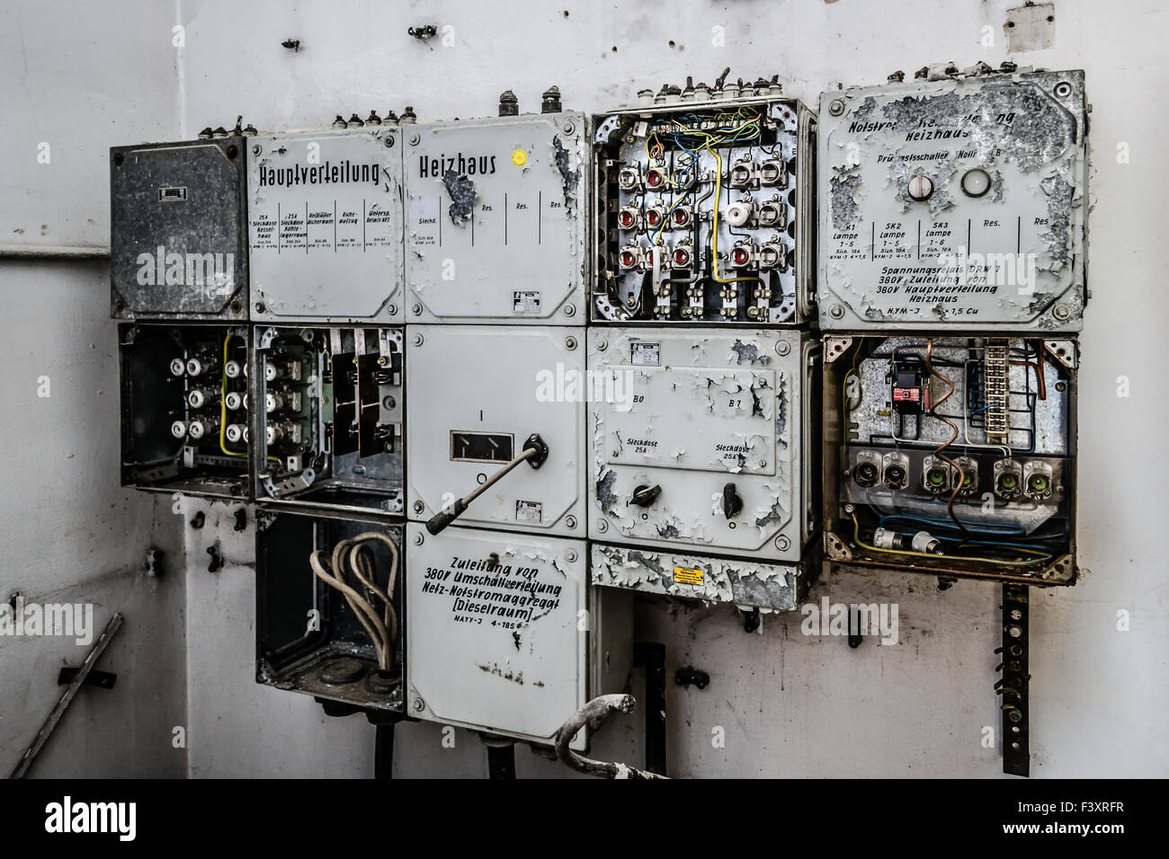 hight resolution of old fuse box stock photo 88485035 alamy old house fuse box old fuse box