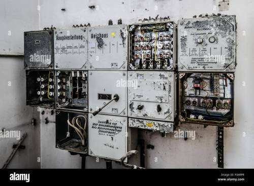small resolution of old fuse box stock photo 88485035 alamy old house fuse box old fuse box