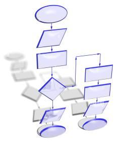 Empty flow chart diagram also stock photo alamy rh