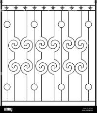 Wrought Iron Gate, Door, Fence, Window, Grill, Railing ...