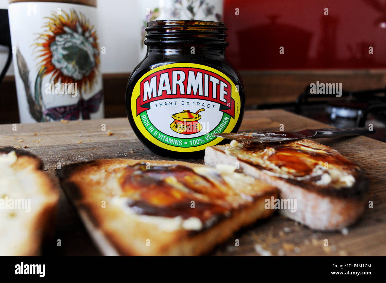 Marmite on toast love it or hate it famous British spread ...