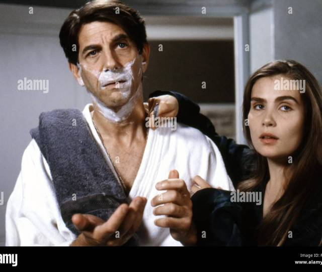 Peter Coyote And Emmanuelle Seigner Bitter Moon 1992 Directed By Roman Polanski Stock