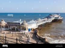 England Norfolk Cromer Pier Stock