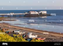 England Norfolk Cromer Beach And Pier Stock