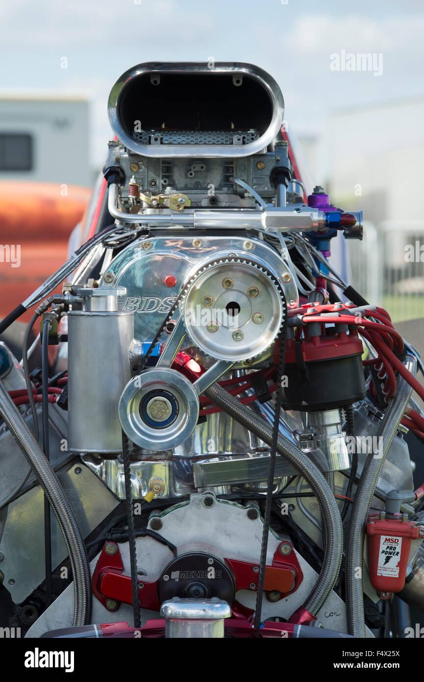 hight resolution of drag car engine