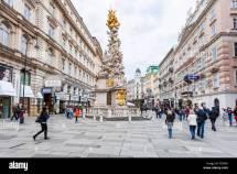 Graben In Wien Stock &