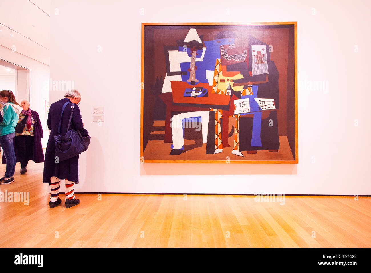 Pablo Picasso At Moma The Museum Of Modern Art Stock