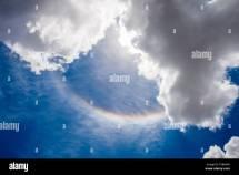 Cumulus Cloud Rainbow Stock &