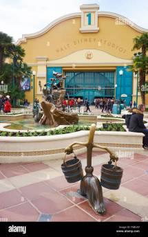 Entrance Walt Disney Studios Disneyland Paris Marne-la