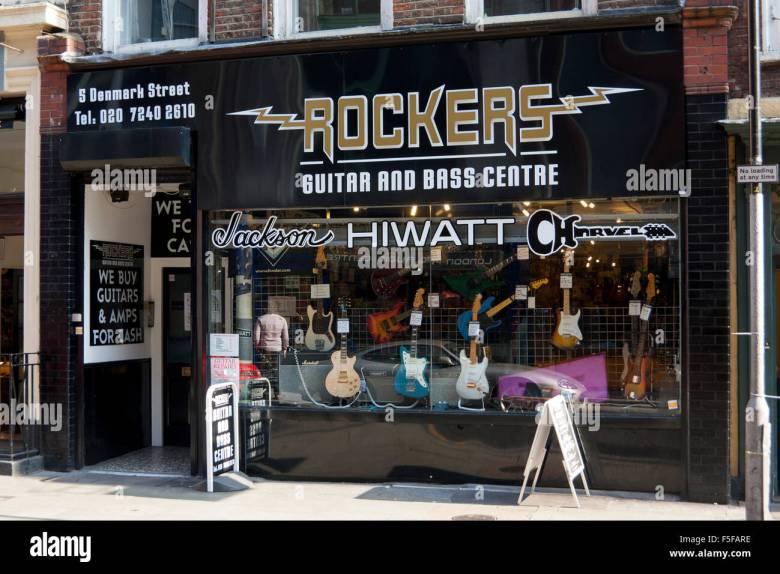 musical instrument shop stock photos & musical instrument shop stock