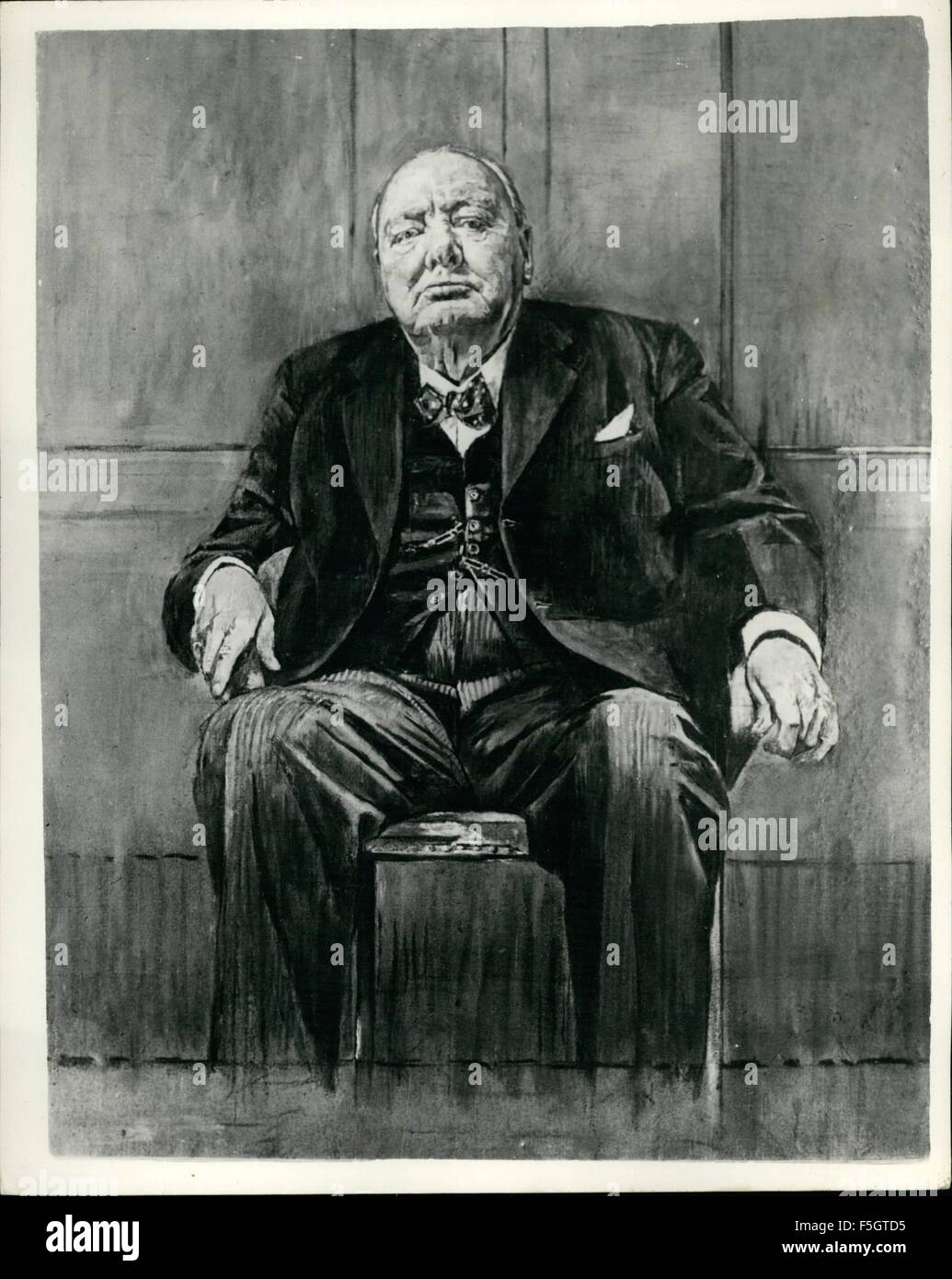 Graham Sutherland Winston Churchill : graham, sutherland, winston, churchill, Winston, Churchill, Graham, Sutherland, Resolution, Stock, Photography, Images, Alamy