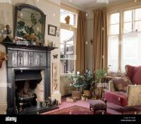 Edwardian Fireplace Stock Photos & Edwardian Fireplace