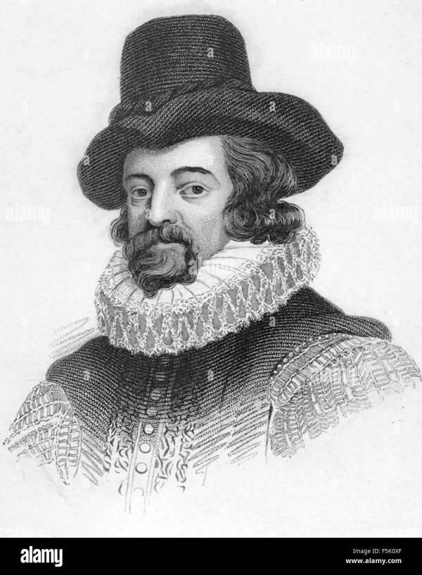 Francis Bacon English Philosopher Stock &