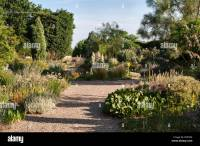 The Beth Chatto Gardens, Colchester, Essex, UK. The dry ...