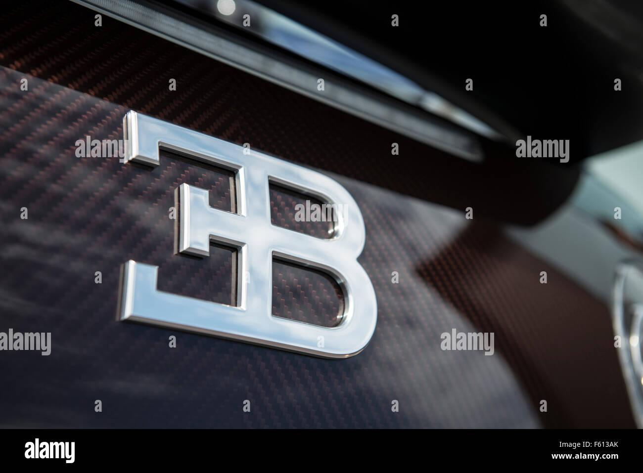 bugatti logo stock photos