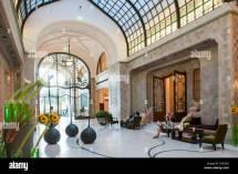 Lobby Of 'four Seasons' Hotel In Elegant